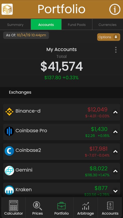 Crypto Account Manager screenshot-0