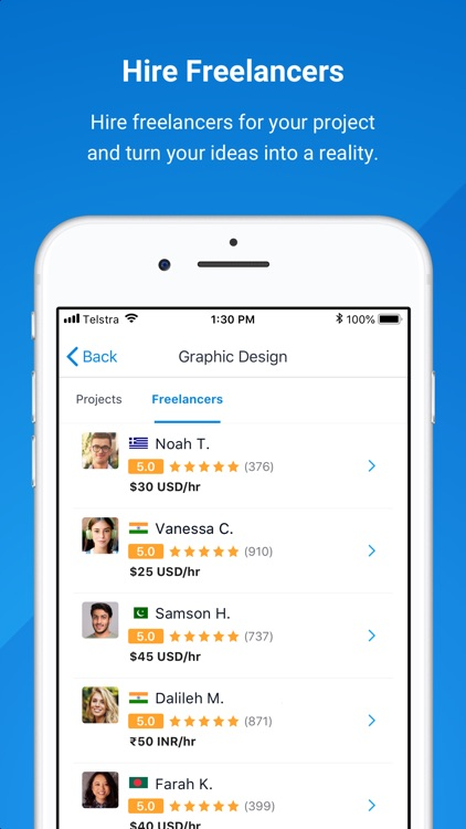 Freelancer - Hire & Find Jobs screenshot-3