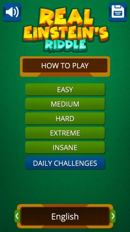 Einstein's Riddle Logic Puzzle screenshot-3