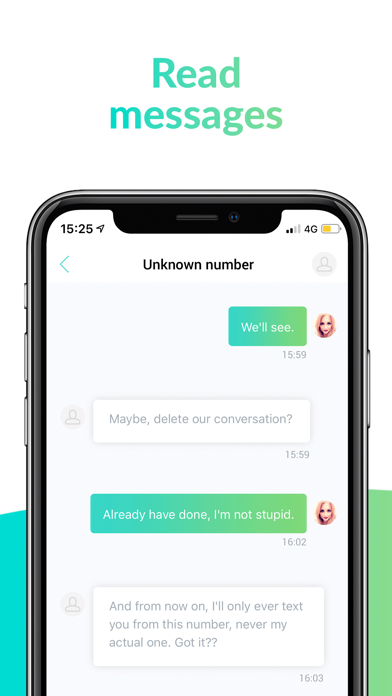 Screenshot for unrd - chat and text stories in United Kingdom App Store