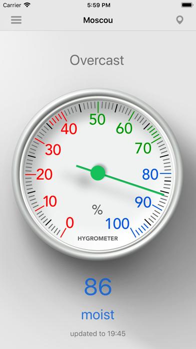 Hygrometer - Check humidity Screenshot