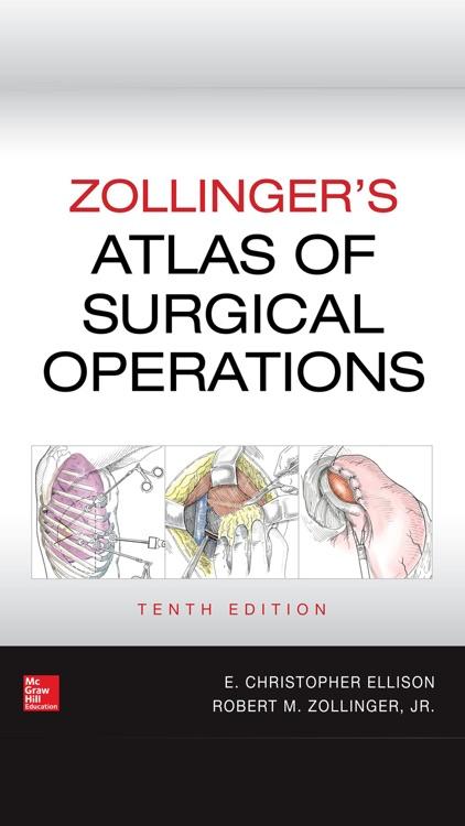 Zollinger Atlas of Surgery 10E