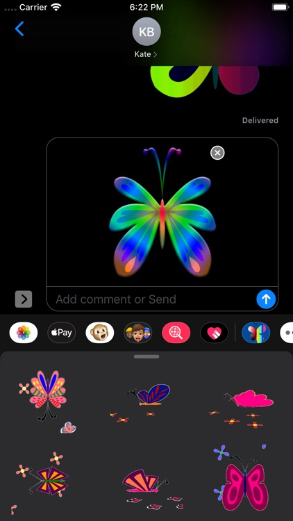 Butterflies Stickers screenshot-9