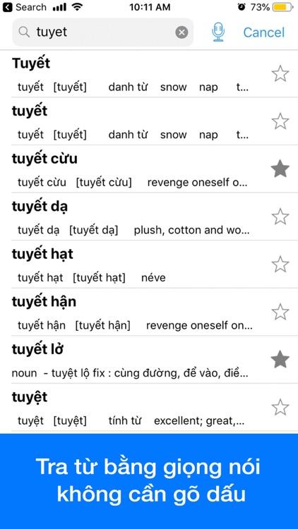 Vietnamese Dictionary Dict Box screenshot-3