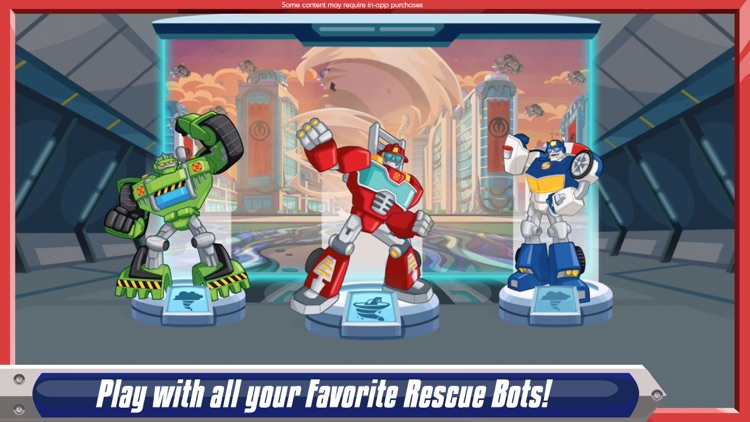 Transformers Rescue Bots: Dash screenshot-0