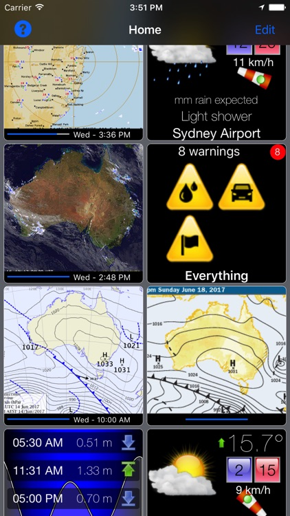 Oz Radar Weather