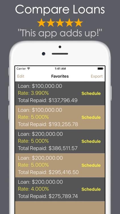 Loan Calculator - Debt Payoff screenshot-3