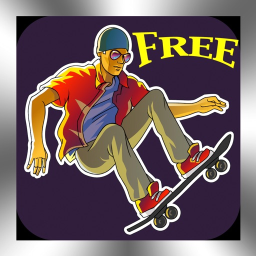 Skateboarding 3D Free Top Skater Action Board Game