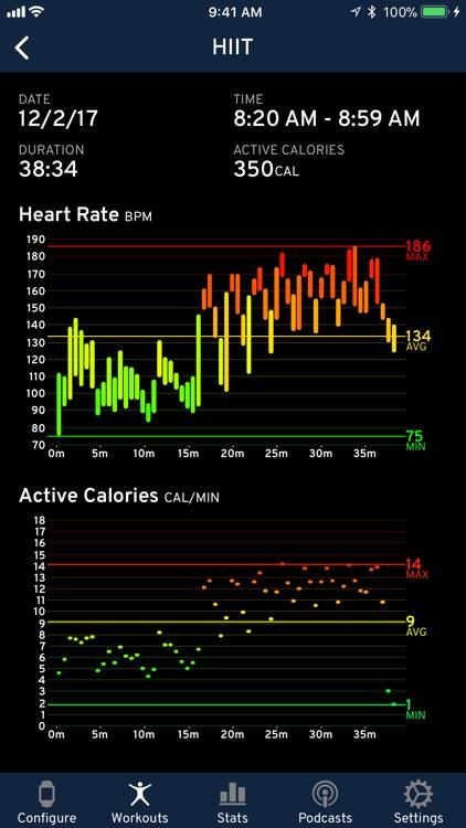 Workouts++ screenshot-0