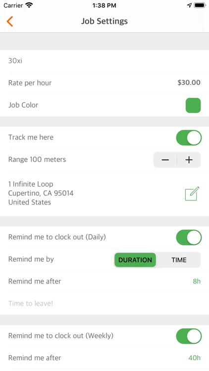 Easy Hours screenshot-7