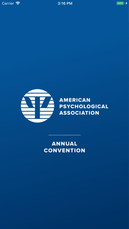 APA Annual Convention