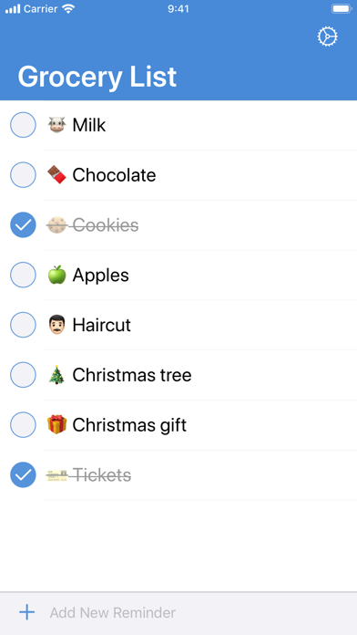 1List (Reminders) Screenshots