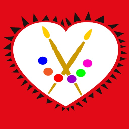 A Valentine's Day Coloring App