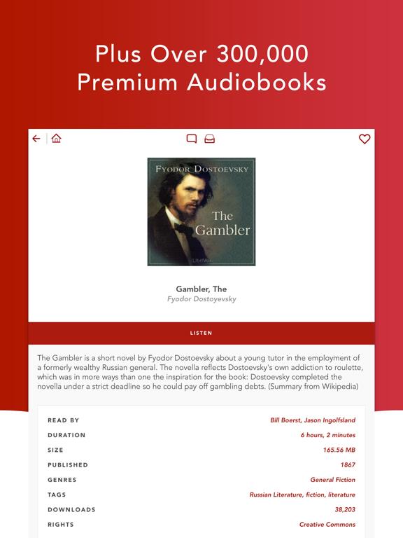 Audiobooks HQ – 8150+ Free High Quality Audio Books screenshot