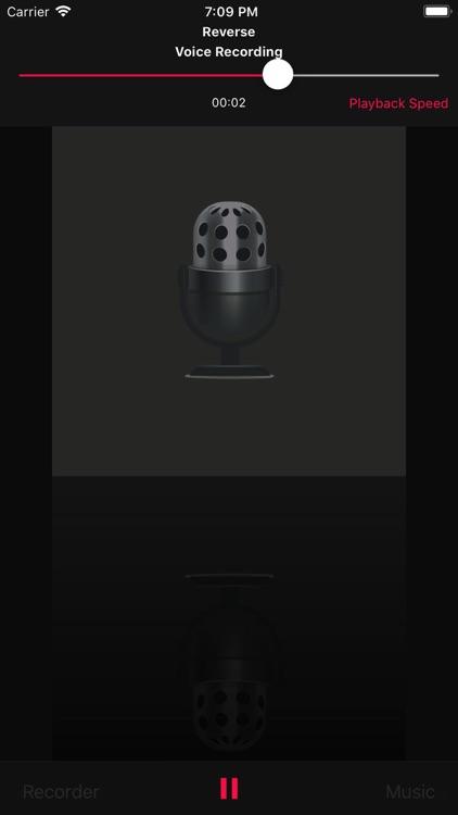Reverse Music Player Pro screenshot-3
