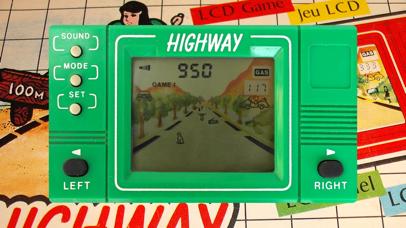 Highway LCD Retro game screenshot 4