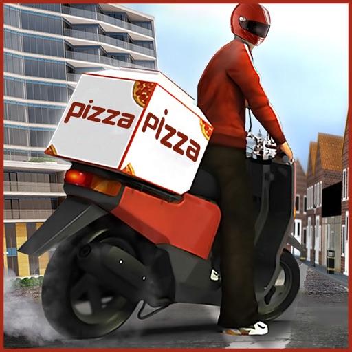 Moto Bike Pizza Delivery
