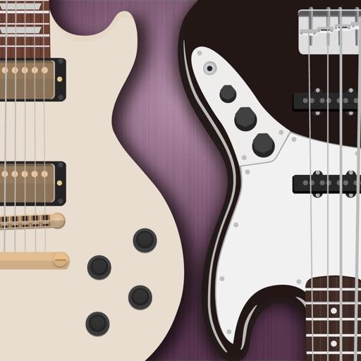 ギター&ベースタブ譜付 フレーズ集アプリ