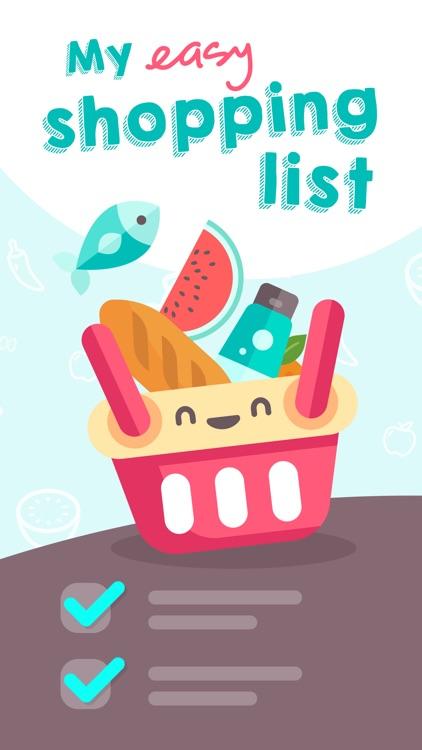 Easy Shopping List. screenshot-0