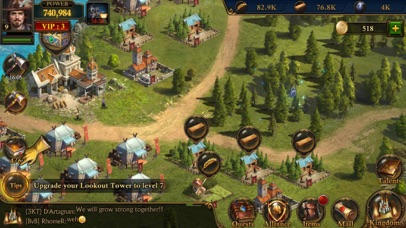Guns of Glory: MMO Empire War Screenshot