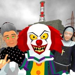 Chernobyl Neighbor. Clown Gang