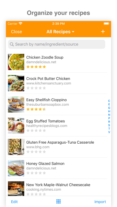 MealBoard - Meal and Grocery Planner screenshot
