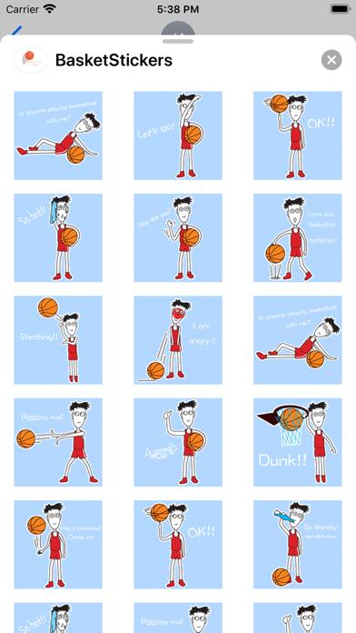 BasketBallFansStickers screenshot 5