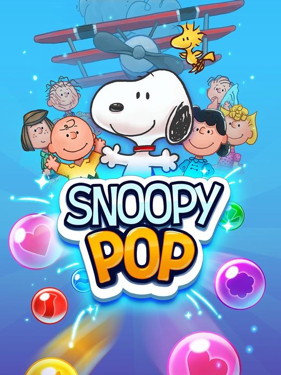 Игра Snoopy Pop