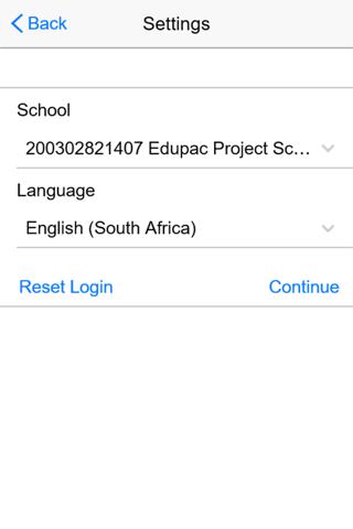 Edupac Employee Portal - náhled