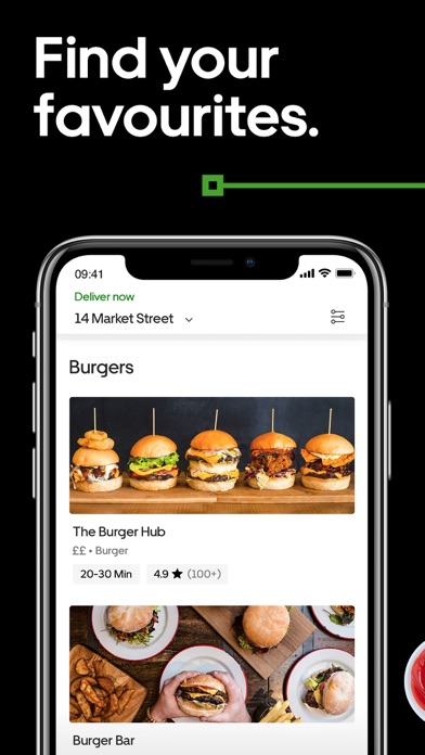 Screenshot for Uber Eats: Food Delivery in Azerbaijan App Store