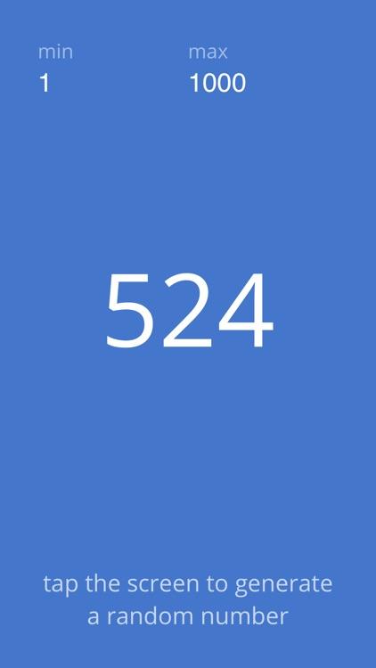 A Random Number Generator screenshot-4