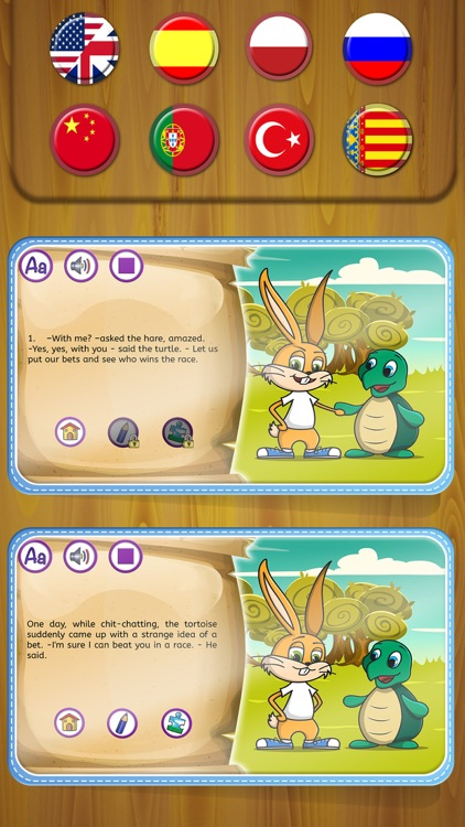 The Rabbit And The Turtle By Classic Fairy Tales Interactive Book