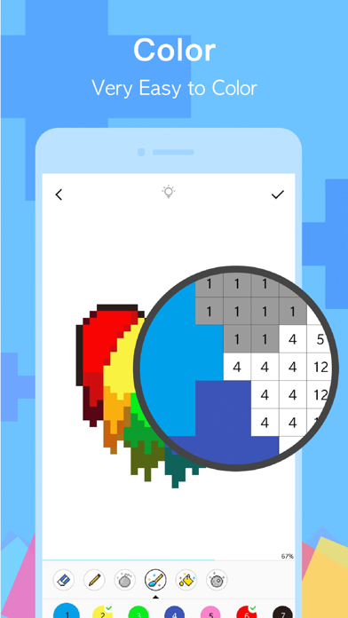 PixelDot - Color by Number screenshot four