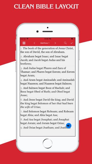 New Testament - KJV screenshot one