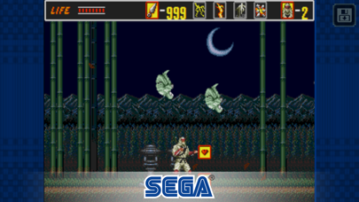 Screenshot from The Revenge of Shinobi Classic