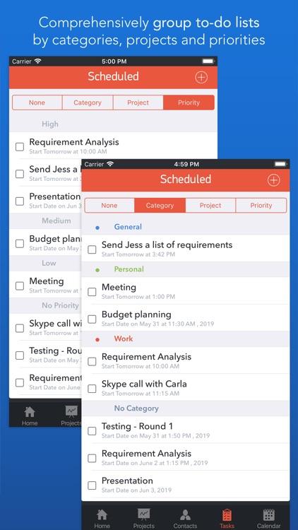 Task Office lite: to-do list screenshot-7
