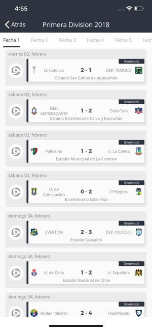 Estadio CDF en App Store