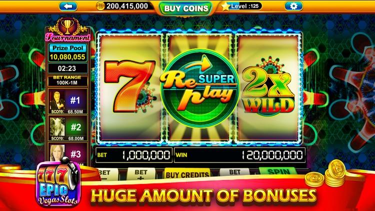 Epic Vegas Slots - Casino Game screenshot-3