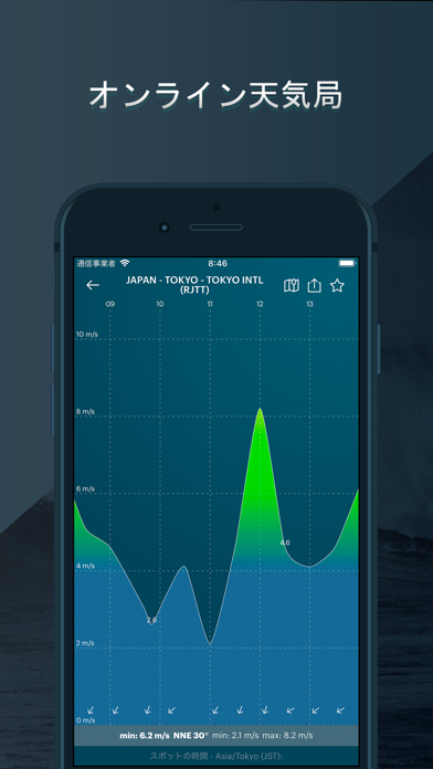 WINDY: 天気予報 - 風予報、風速 ScreenShot5