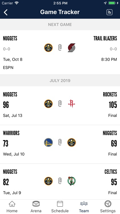Denver Nuggets screenshot-4