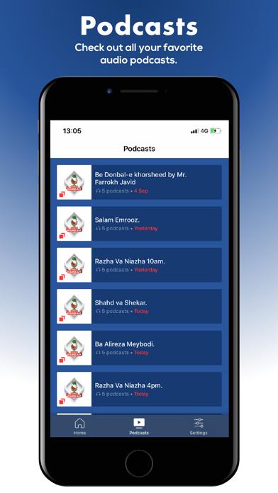 Screenshot #2 pour Radio Hamrah