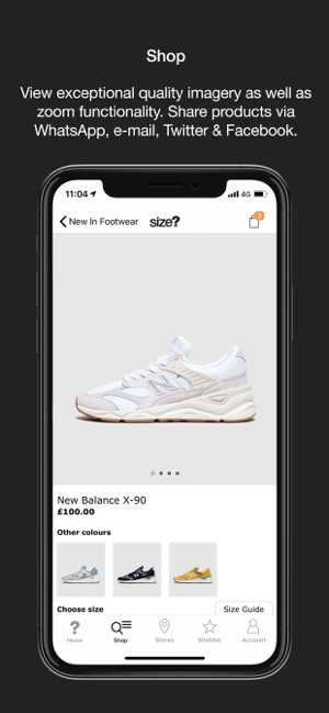 size? on the App Store
