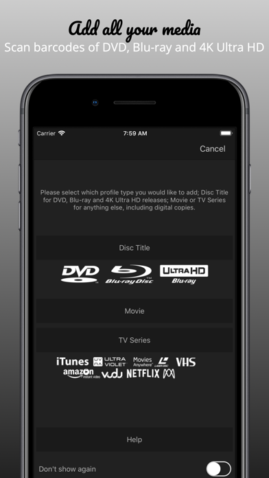 My Movies 3 - Movie & TV List Screenshot