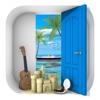 脱出ゲーム Aloha ハワイの海に浮かぶ家 - iPhoneアプリ