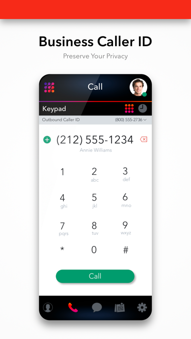 2nd Line Business Phone Number Screenshot