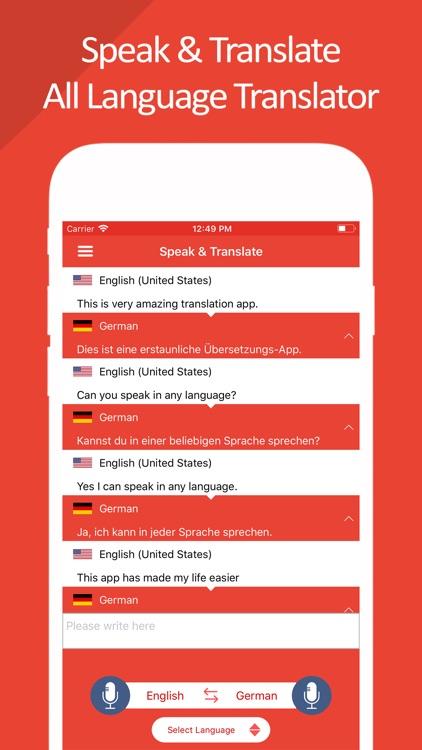 Speak & Translate | Translator screenshot-4