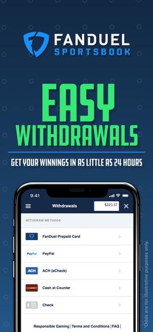 FanDuel Sportsbook - Betting on the App Store