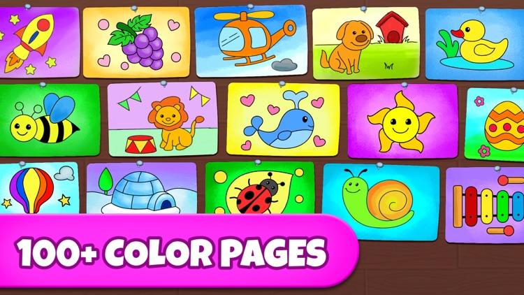 Coloring Games: Painting, Glow screenshot-3