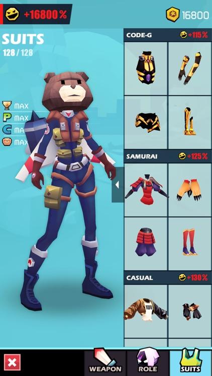 战斗少女跑酷 screenshot-3