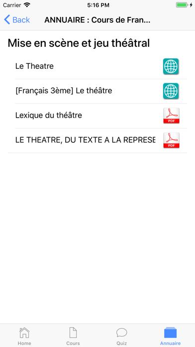 Cours de Français screenshot 9